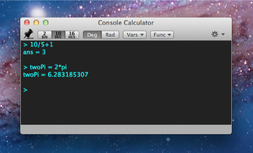 CCalc for OS X